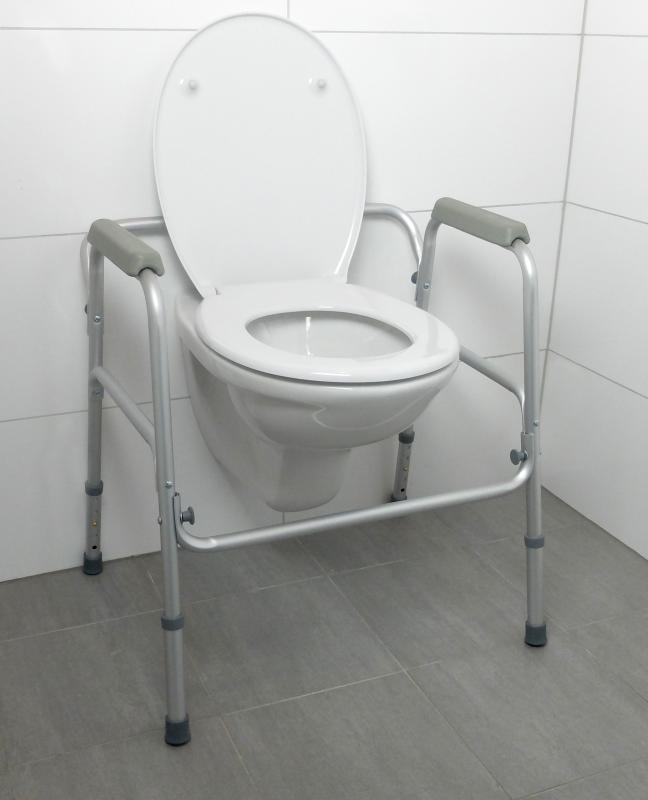 Cadre de toilette cadre de toilette pour la salle de - Cadre pour salle de bain ...