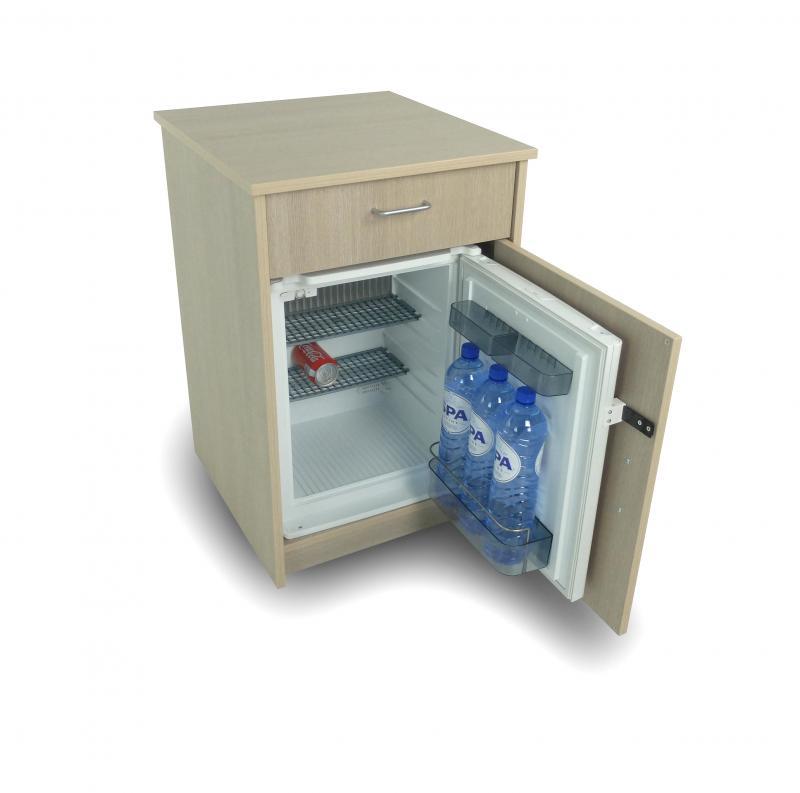 table de nuit avec frigo dometic ds400 mod le encastr ch ne gris tables de nuit pour la. Black Bedroom Furniture Sets. Home Design Ideas
