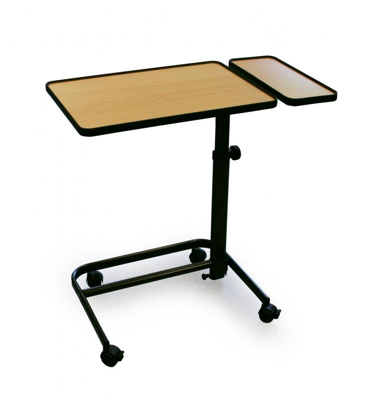 Table manger au fauteuil avec tablette lat rale fixe coloris h tre ta - Fauteuil table a manger ...