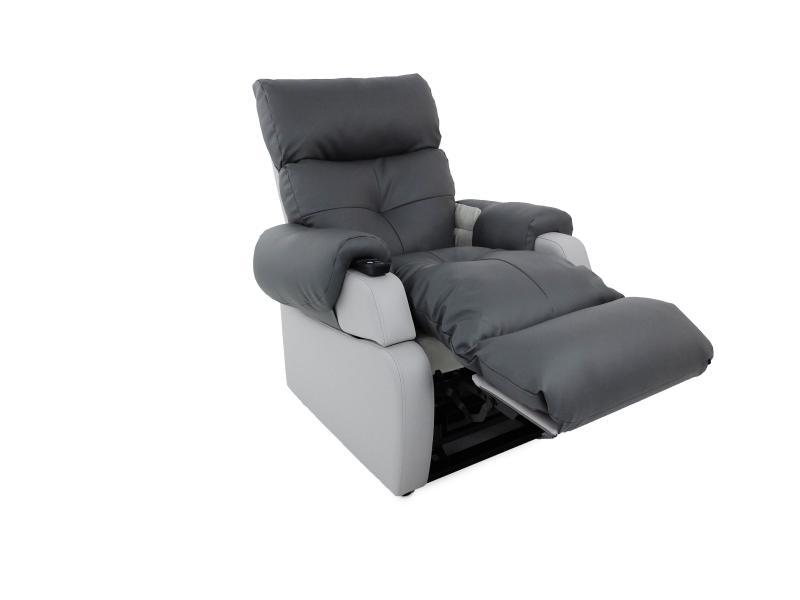 fauteuil releveur cosy mdium en vinyle avec modules de couettes zipps - Fauteuil Chambre